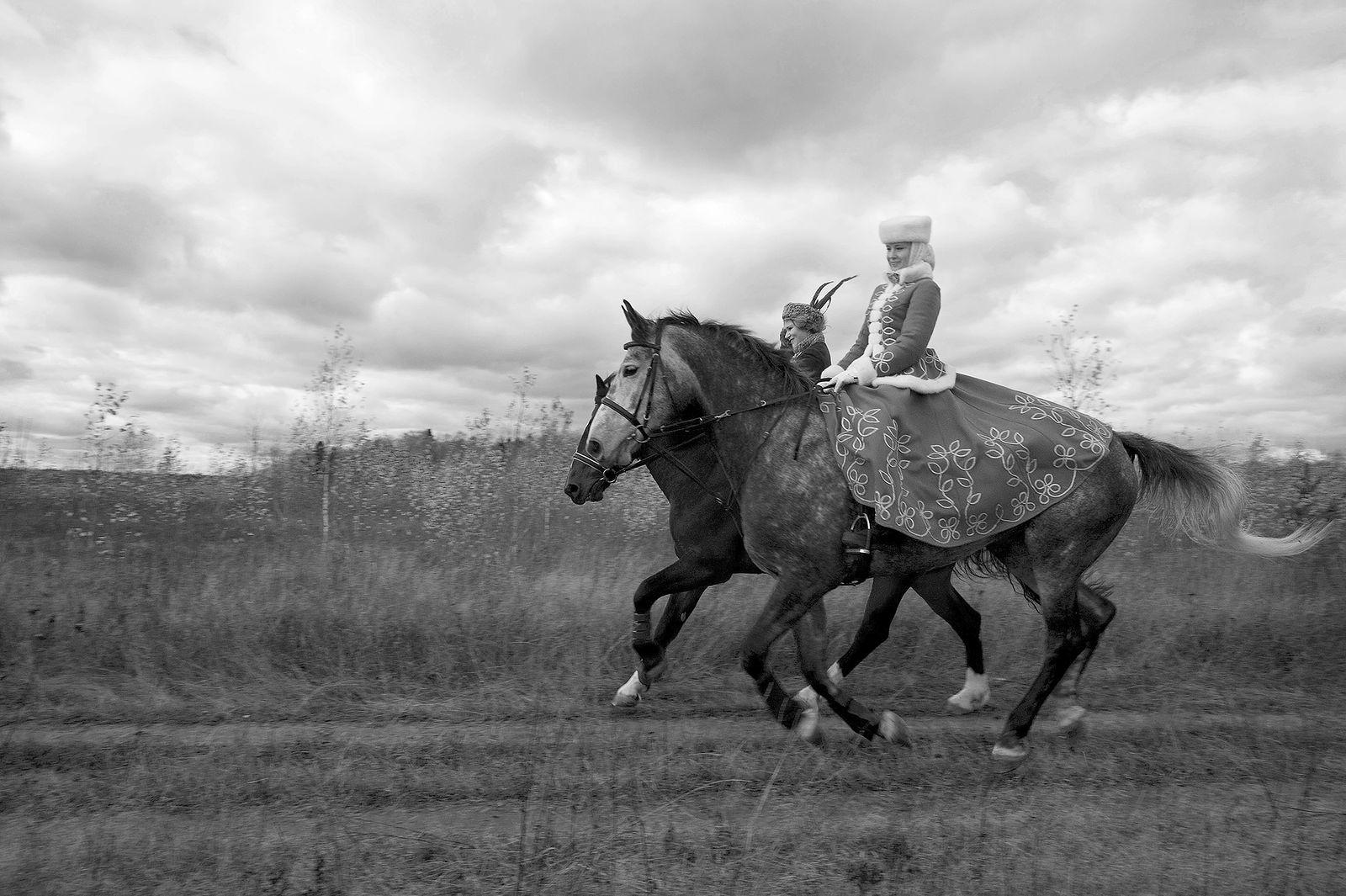Игорь Нестеров. Конные охоты. Счастье на бегу