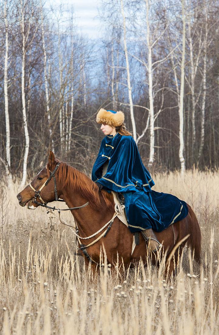 Игорь Нестеров. Конные охоты. Спокойствие охотника