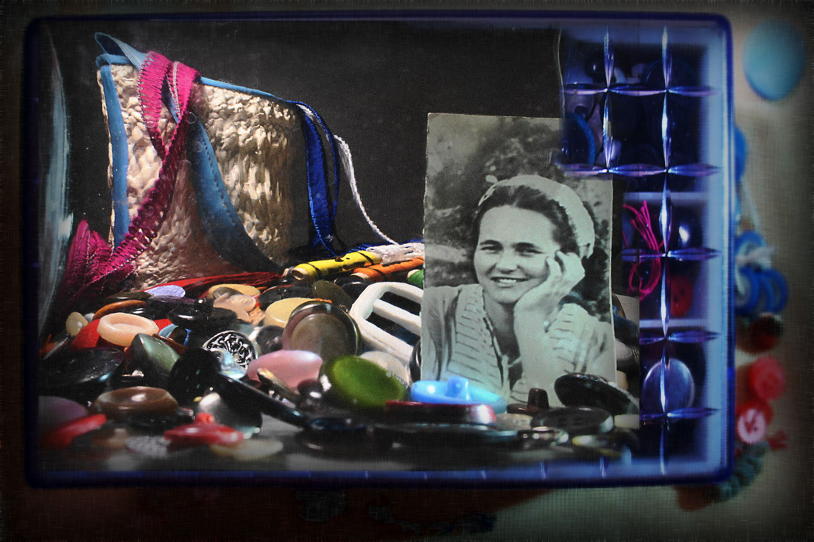 Elena Tarzimanova. шкатулка моей мамы 3