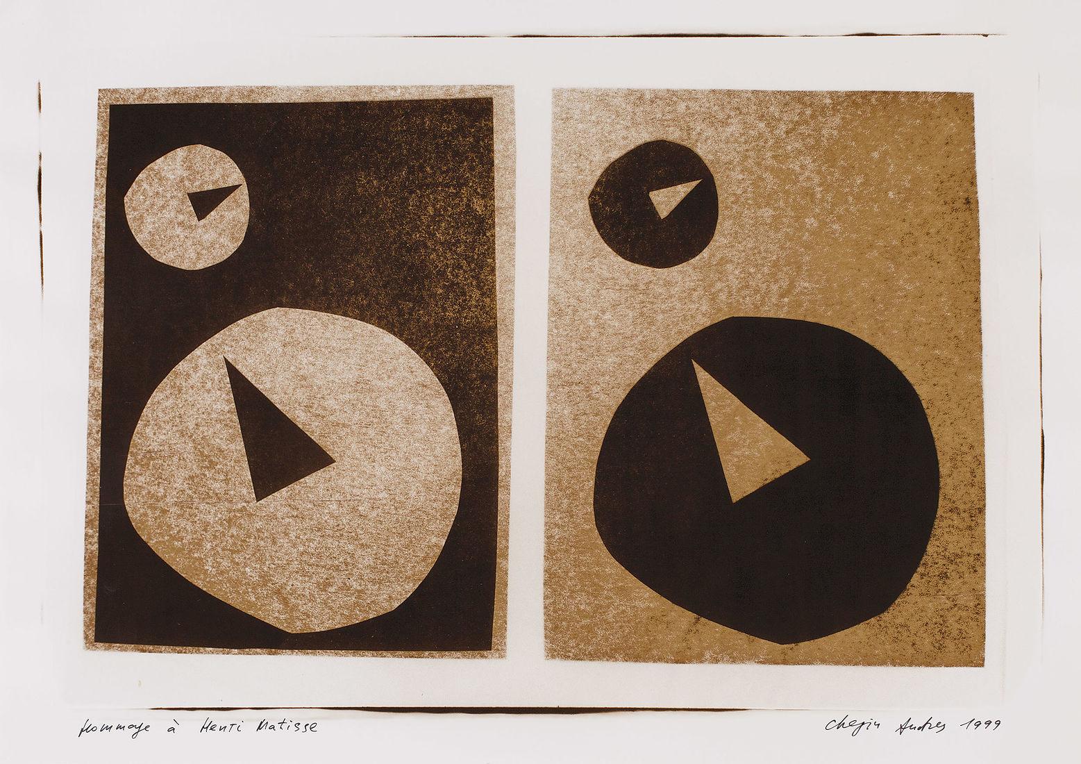 Andrey Chezhin. Drawing-pin and modernism. Без названия