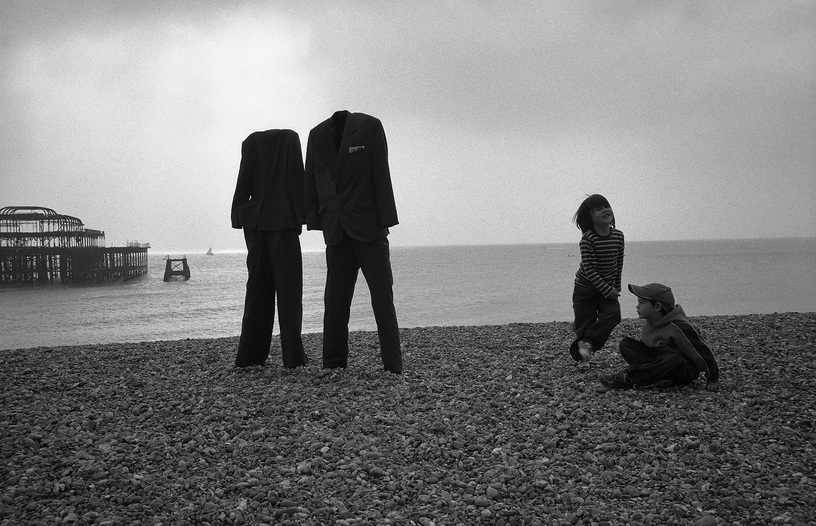 Евгений Сафьян. Manequin cities. Великобритания, Брайтон, 2006