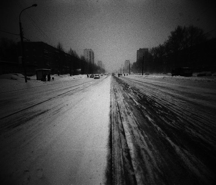 Пустынникова Наталья. Пустынникова Наталья. дорога в снегопад