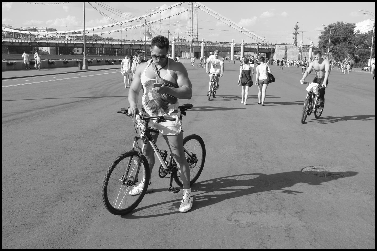 Игорь Зайцев. Парк Горького. Без названия