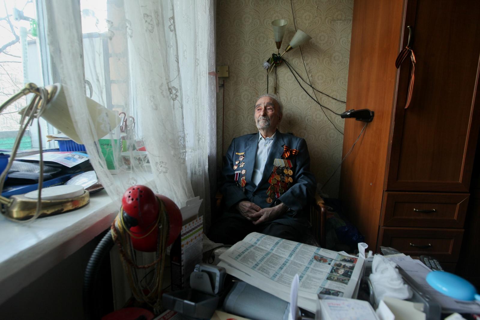 Alekseeva Maria. Свидетели войны. СТАМБЛЕР БОРИС ГРИГОРЬЕВИЧ