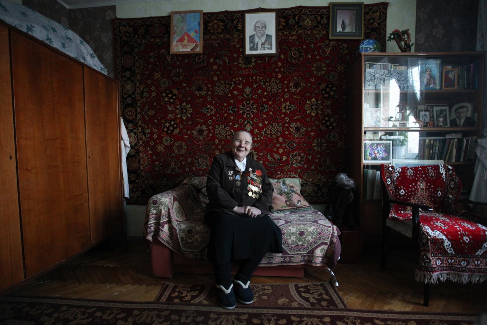 Alekseeva Maria. Свидетели войны. КОЛОТУША НАДЕЖДА ИВАНОВНА