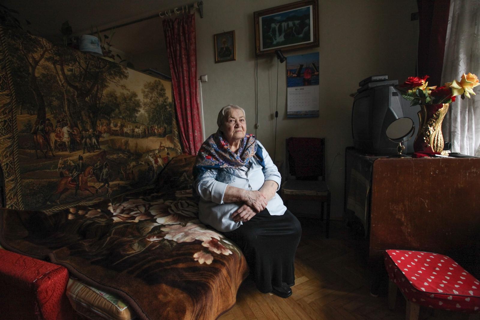 Alekseeva Maria. Свидетели войны. ШИНКАРЕНКО МАРИЯ СЕМЕНОВНА