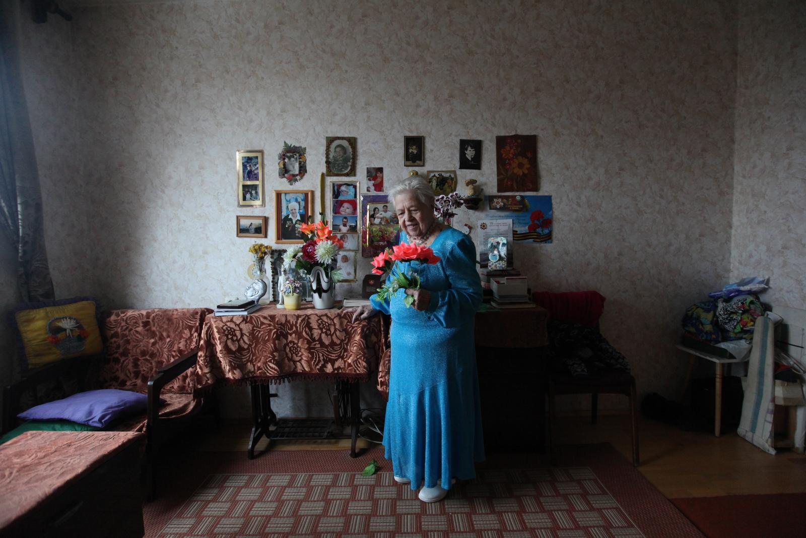 Alekseeva Maria. Свидетели войны. КОЗЛОВА ЕВГЕНИЯ АЛЕКСАНДРОВНА