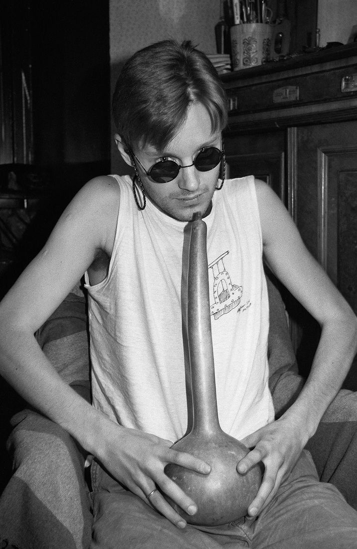 Андрей Безукладников. Портреты. Фотограф Илья Пиганов. 1987