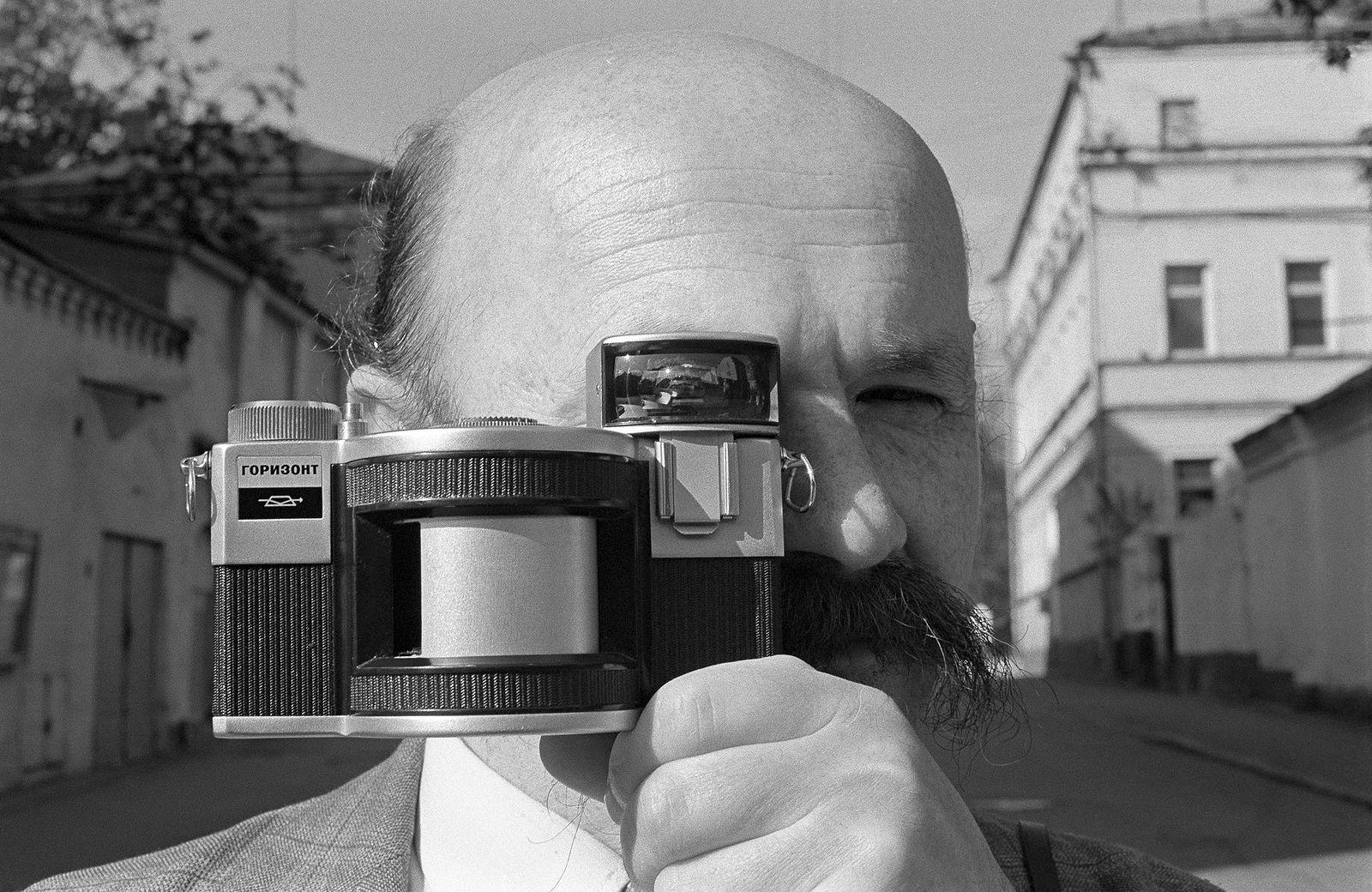 Андрей Безукладников. Портреты. Фотограф Александр Слюсарев. 1988
