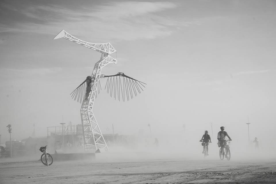 Pavel Antonov. Burning Man. City of Sand. 11987120_10153431199556273_1638306714655864530_n