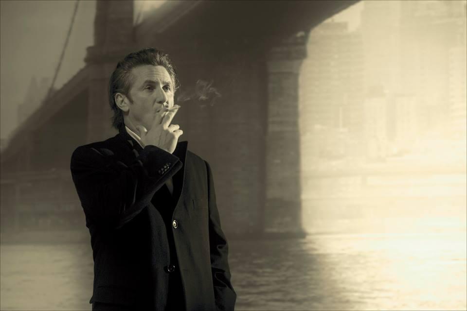 Pavel Antonov. Portraits of Artists I. Sean Penn for Robert Wilson and Vanity Fair 2006