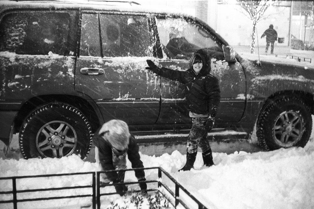 Аня Бочарова. Вашингтон снегопад янв 16. IMG004978web