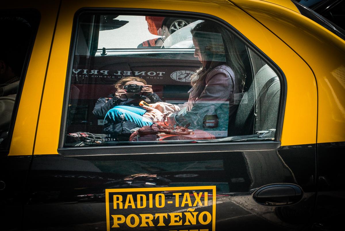 Екатерина Буракова-Шчекич. Аргентина. Radio-Taxi