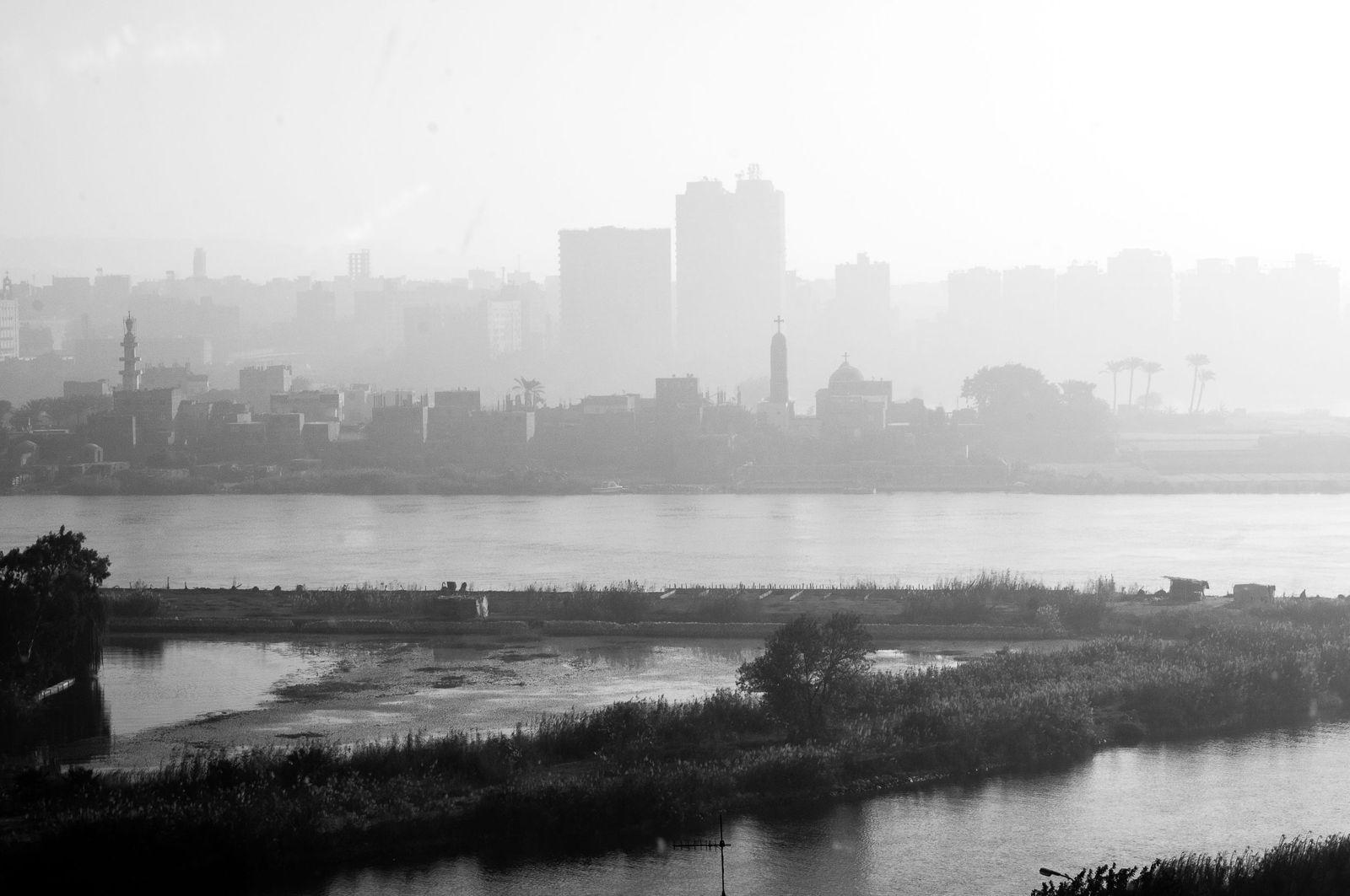 Екатерина Буракова-Шчекич. Каир-Александрия. утренний вид. Каир.