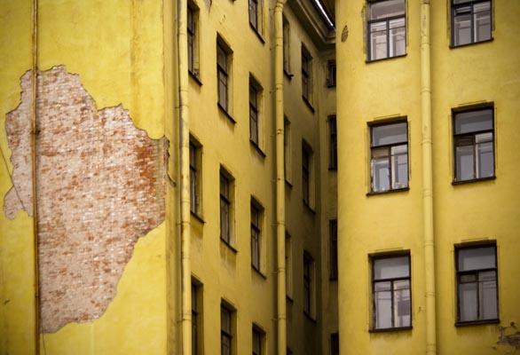 Екатерина Буракова-Шчекич. Мой любимый город. желтое