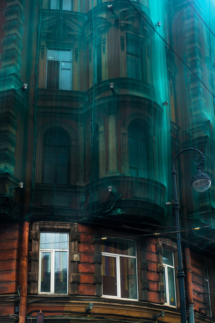 Екатерина Буракова-Шчекич. Мой любимый город. странные места