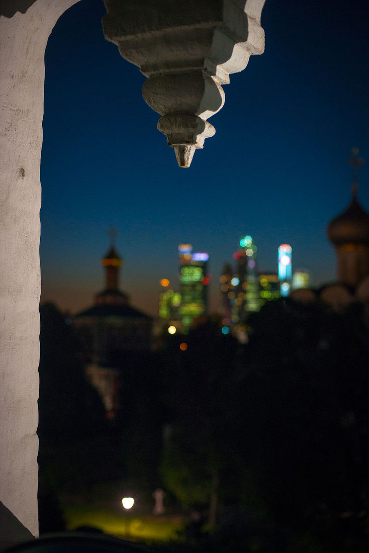 Ekaterina Burakova-Scekic. Moscow. ***