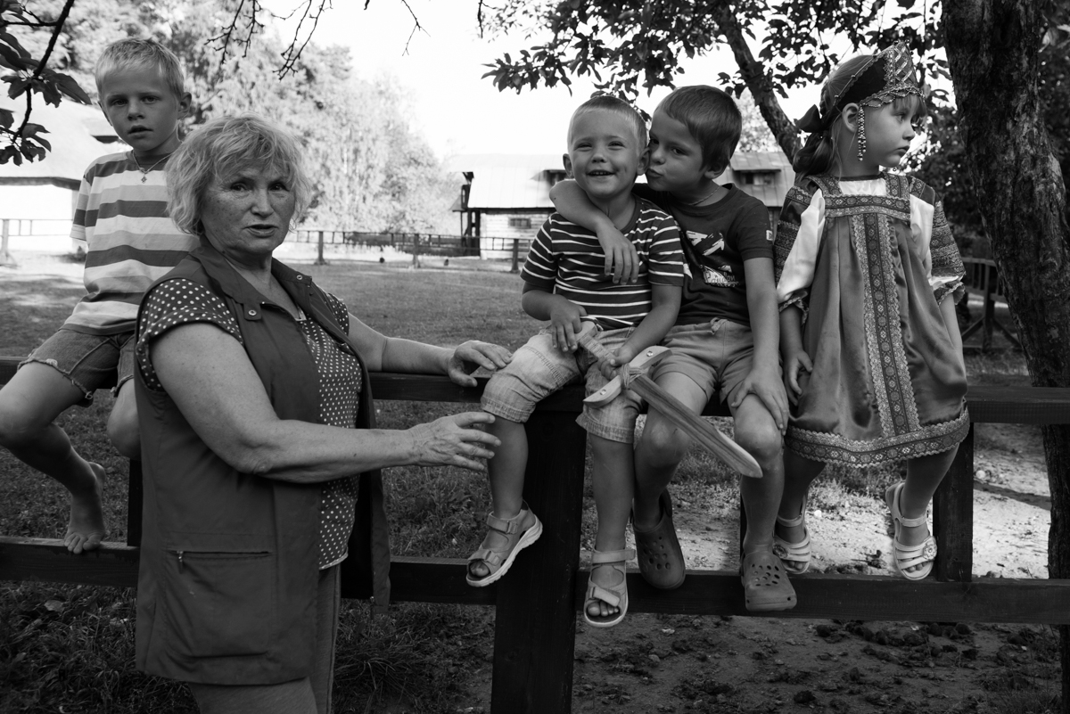 Ekaterina Burakova-Scekic. Family of Polenovo. ***