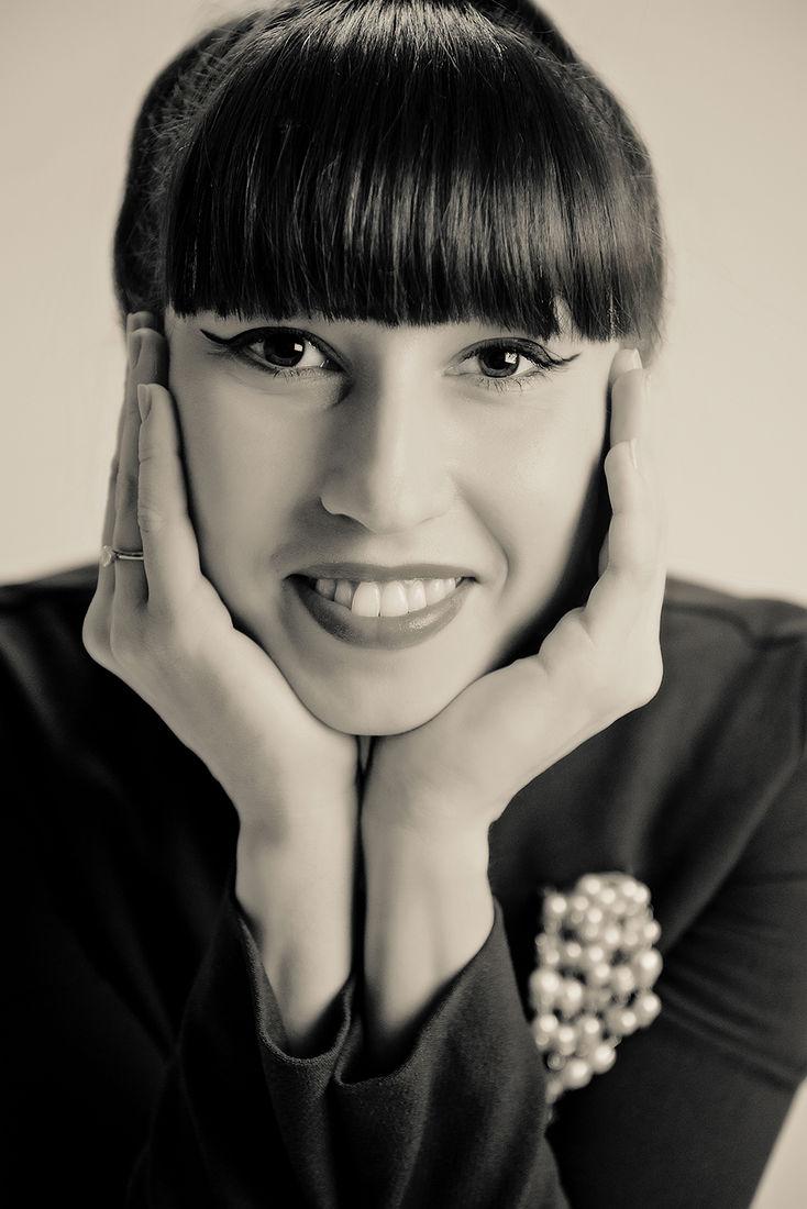 Екатерина Буракова-Шчекич. студийная съемка. Татьяна